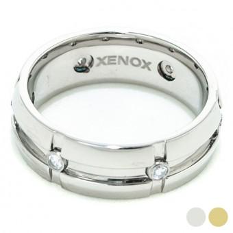 Womens Ring Xenox - Färg: Silver, Storlek: 56