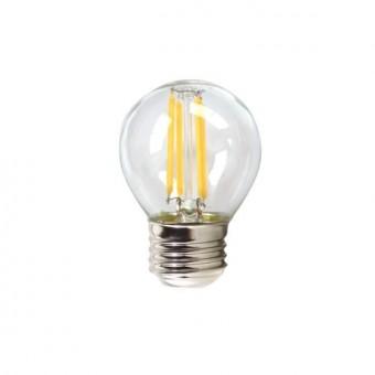 Köp Sfärisk LED lampa Silverelektronik 1960314 E14 4W 3000K