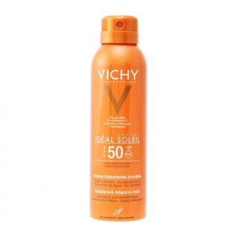Solskydd - Spray Capital Soleil Vichy Spf 50 (200 ml)