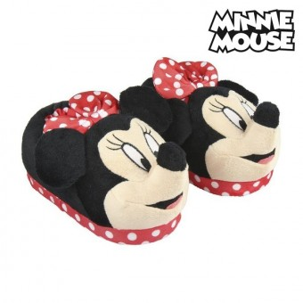 3D tofflor för barn Minnie Mouse 73376 Pink Skostorlek: 23 24