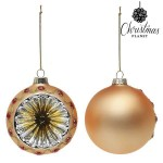 Jul bollar Jul Planet 1730 8 cm (2 st) Crystal Golden