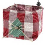 Basket Christmas Planet 8844 juli Red