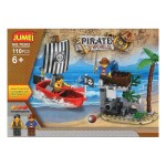Bygga spel med block Pirate World 119610 (110 st)