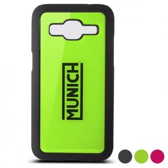PRiME Mobil Cover Galaxy Core Prime München Fluor Line - Färg: Fuchsia