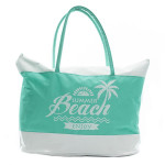 Beach Beach Bag - Lime