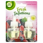 Air Wick Refill för elektrisk luftfräschare - 2 x 19 ml - Twin Berry Blast