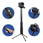 Monopod / selfie Rod / Stativ & Remote kit för Smart Phone / GoPro