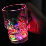 Crystal Skull LED-glas 400 ML