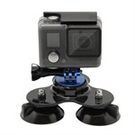 GoPro Hero Suction Cup Holder - Blå