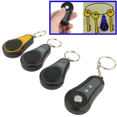 Trådlös RF Super Finder Anti-lost Alarm Keychain