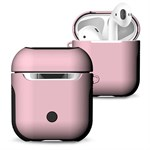 Frosted AirPods-fodral - rosa