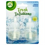 Air Wick Refill för elektrisk luftfräschare - 2 x 19 ml - Fresh Breeze