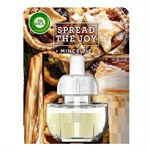 Air Wick Luftfräschare påfyllning - 19 ml - Spread The Joy With Mince Pine