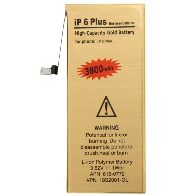 iPhone 6 Plus uppladdningsbart 3,82V / 3800mAh Li-ion-batteri
