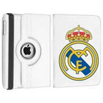 Rotating Soccer Case for iPad 2/3/4 - Real Madrid