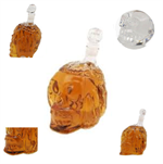 Crystal 2.0 Whisky Skull Head 650 ML