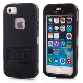 Köp Fancy färg plast och silikon skal till iPhone 5   5S   SE ... 4c3f534481aba