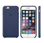 iPhone 6 / iPhone 6S Läderfodral - Navy Blue