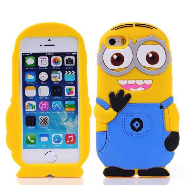 Silikon Minion Hey skal till iPhone 5   5S   SE eb91c7290ed70