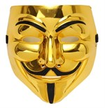 V för Vendetta Mask (Golden Edition)
