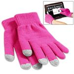 3 Glove Finger Touch - Pink